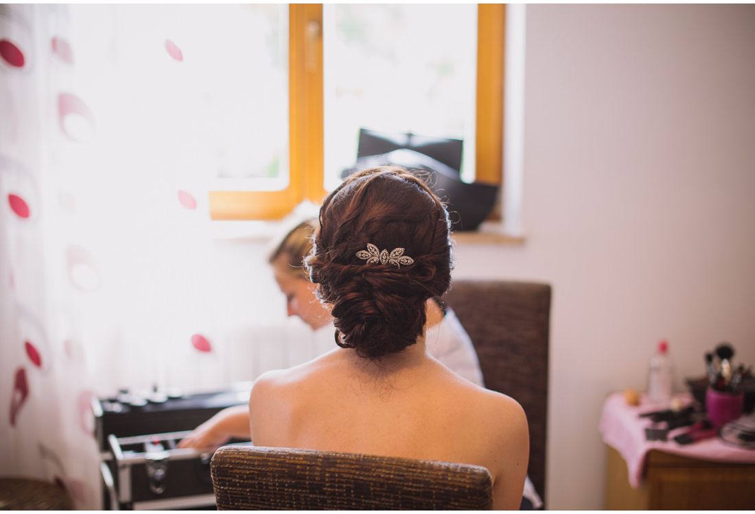 istria wedding bride getting ready