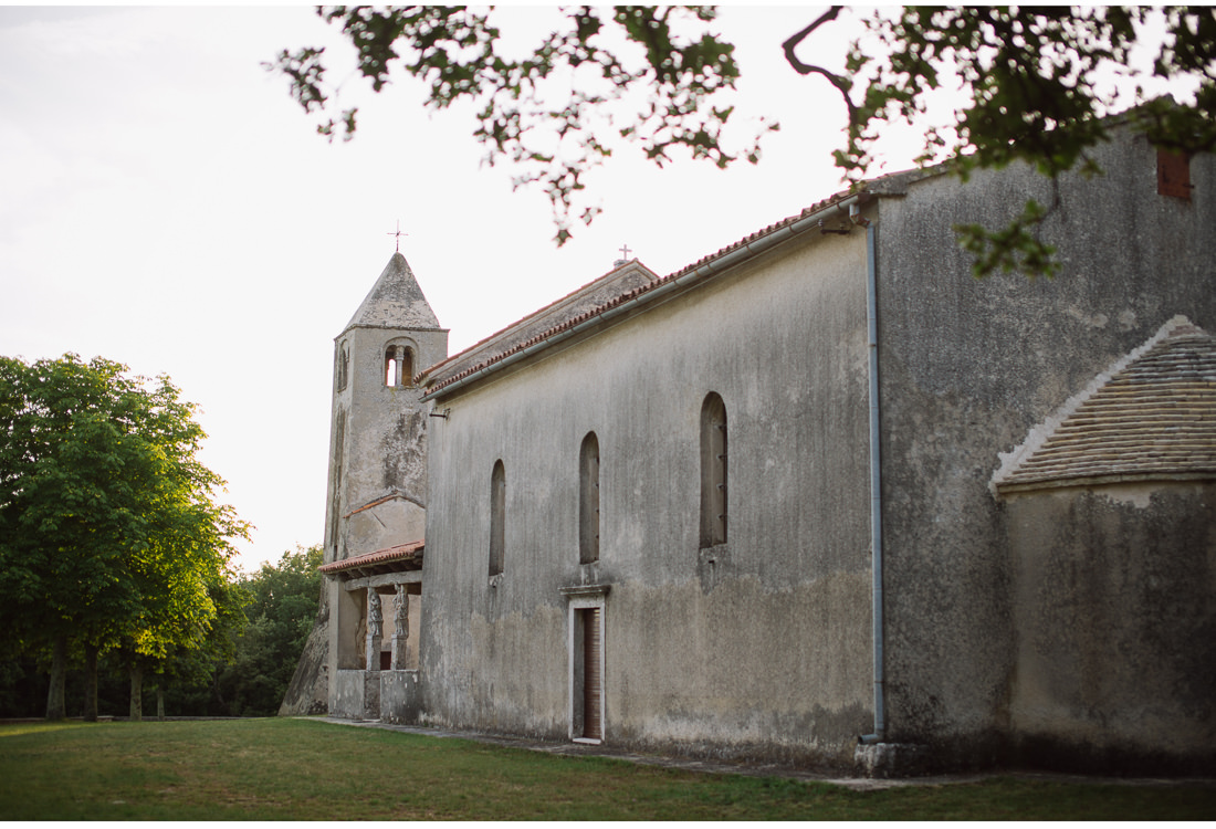 istria wedding church