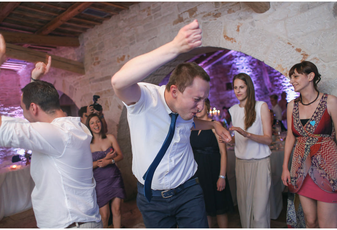 crazy wedding dance