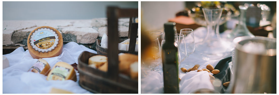 paški sir on krk wedding