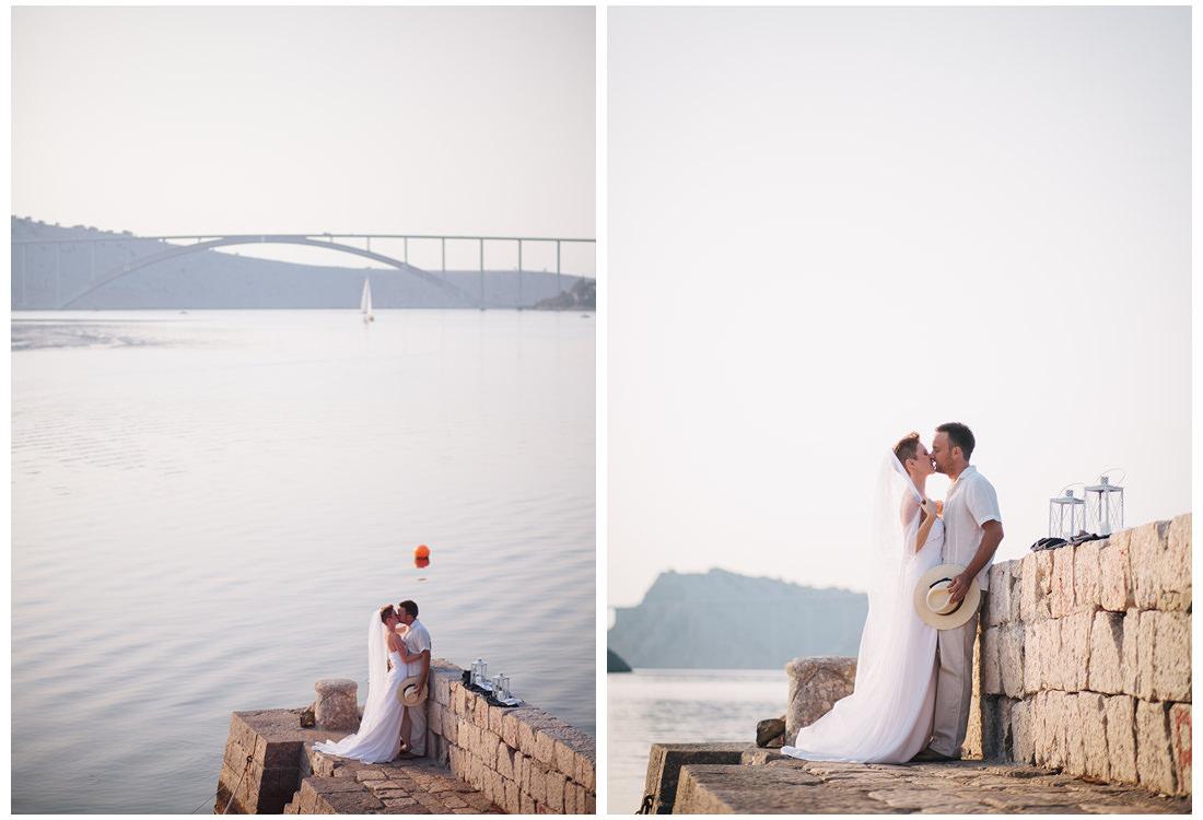 krk wedding bride and groom