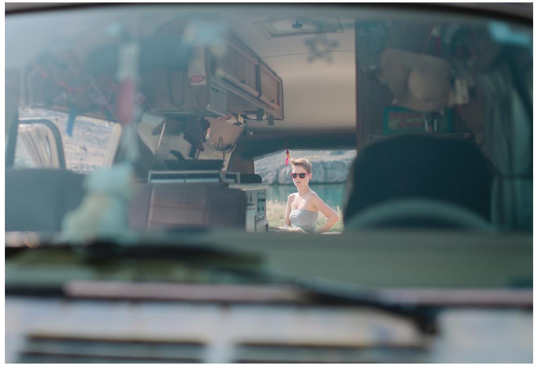 2people 1life through a van