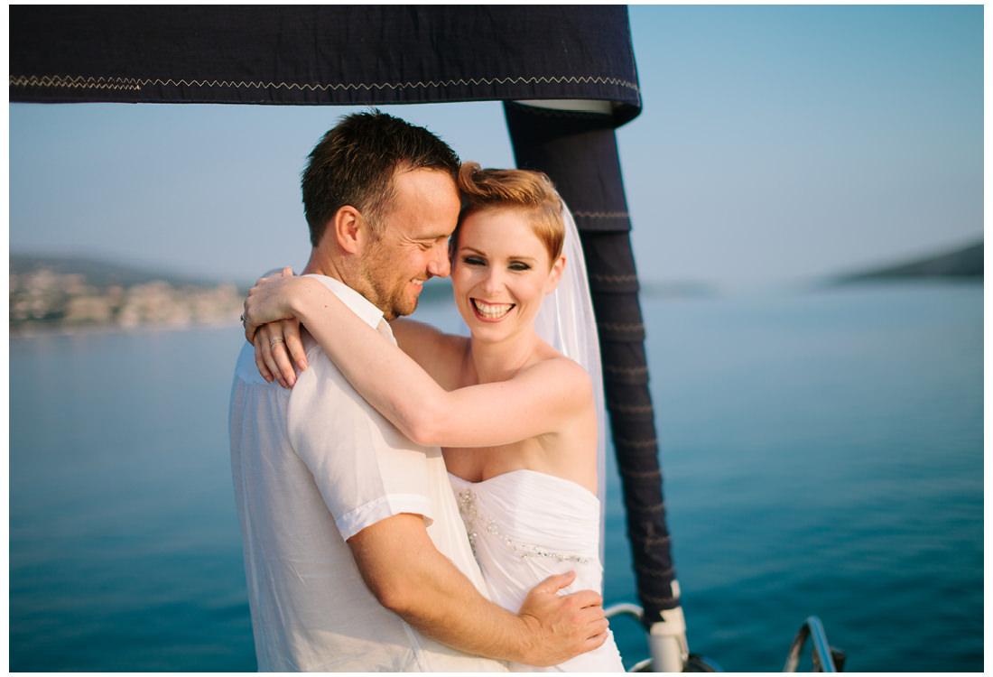 2people 1life croatia wedding on a boat