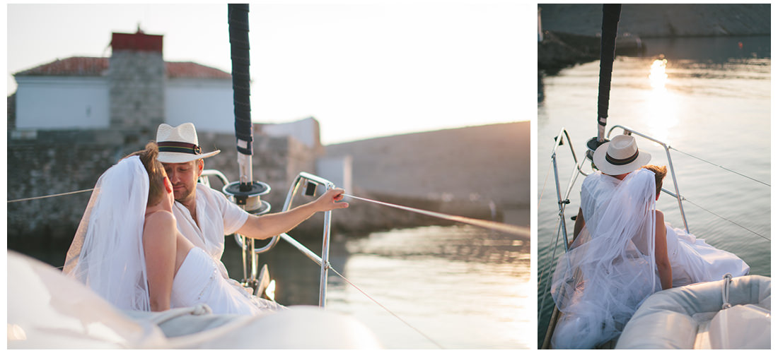 romantic boat ride on krk island