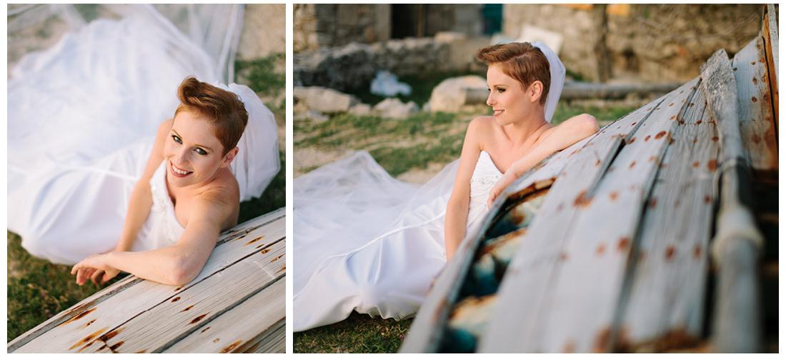 bride pose for krk wedding photographer
