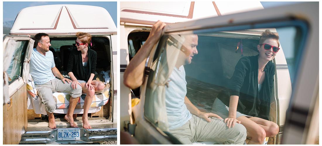 people in camper van on krk island 2people 1life