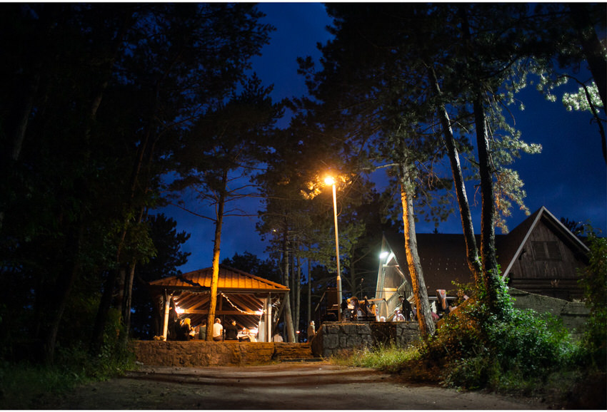 forest wedding venue croatia