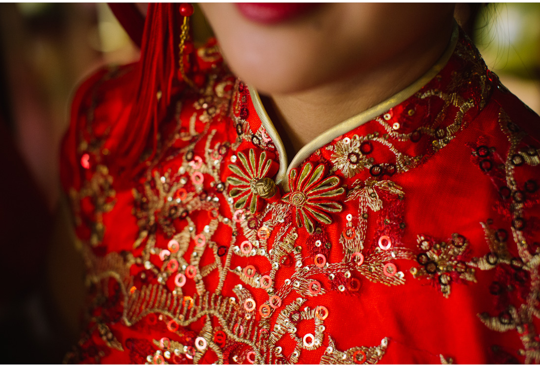 traditional chinese dress detail