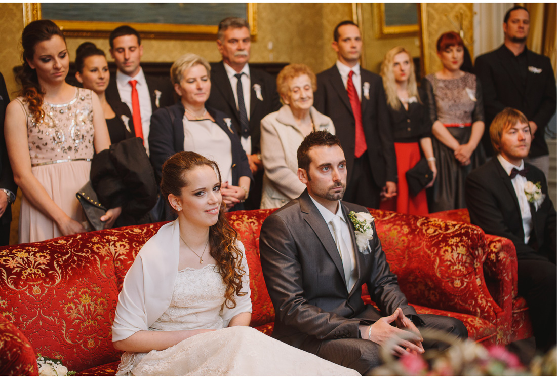 wedding in governor's palace rijeka croatia
