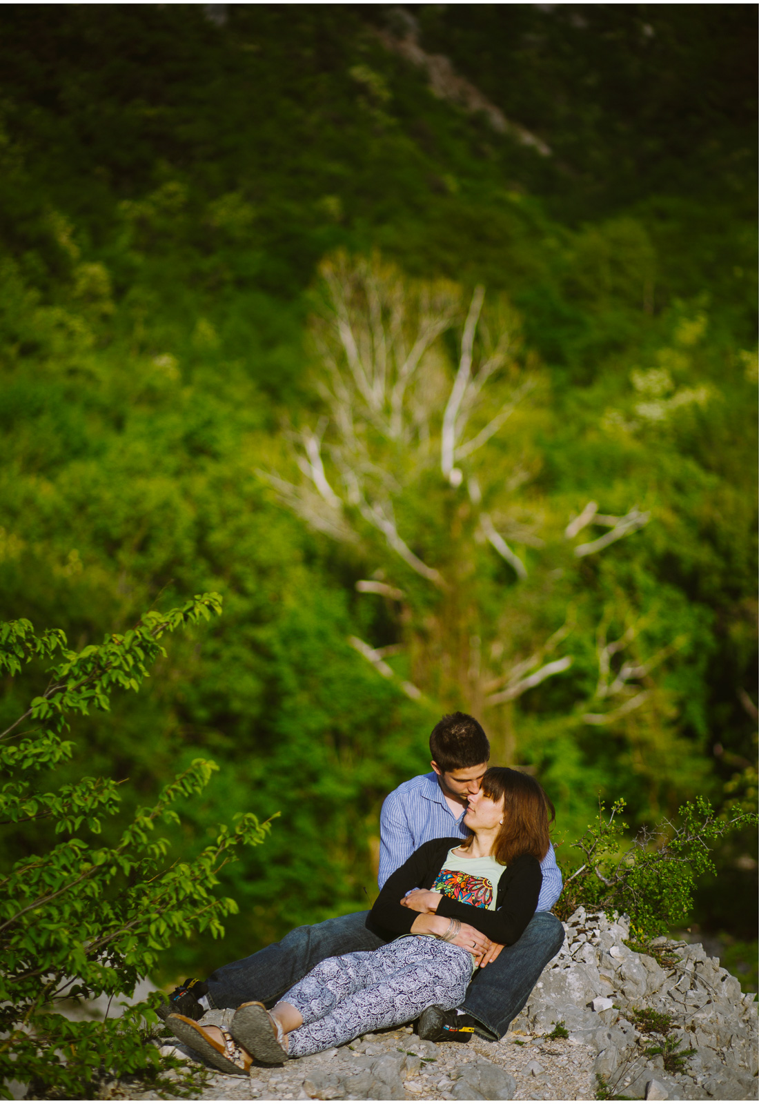 engagement session on ucka mountan