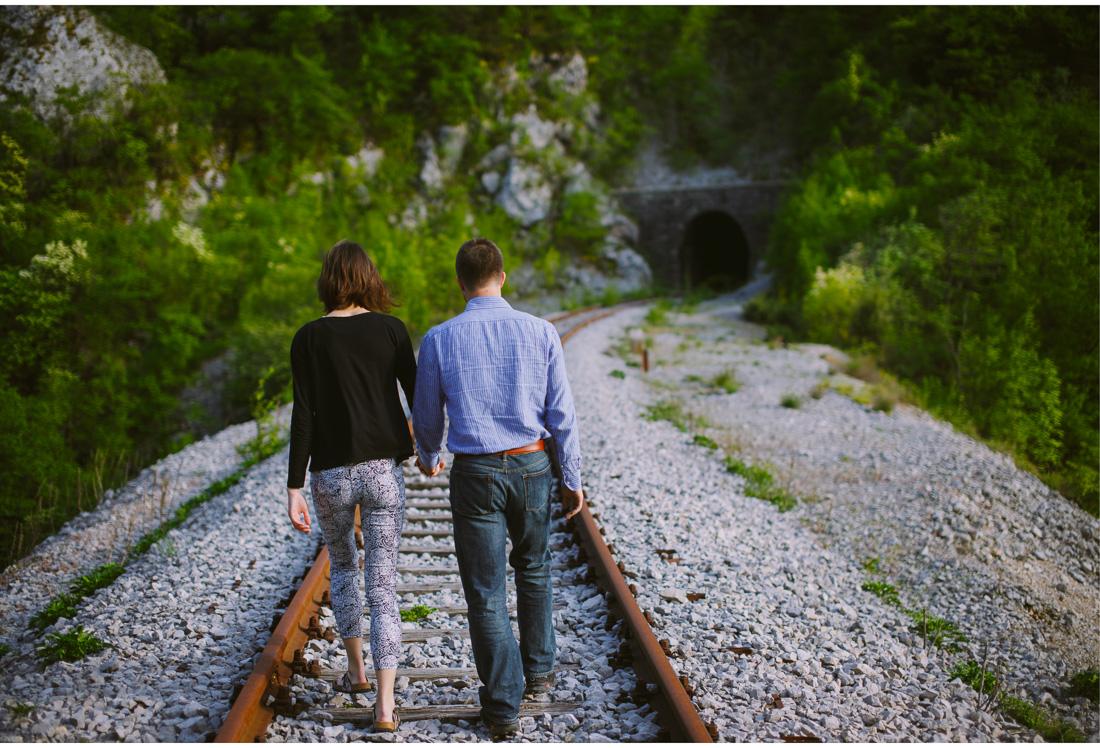 lovers on railroads