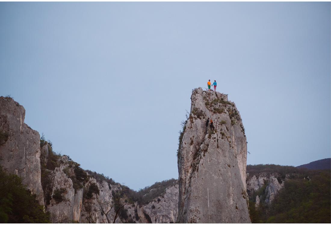 rock climbing engagement