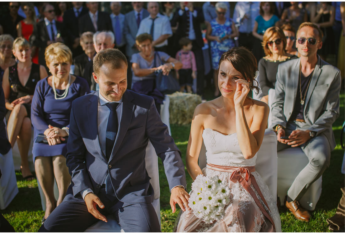 crying bride istria wedding