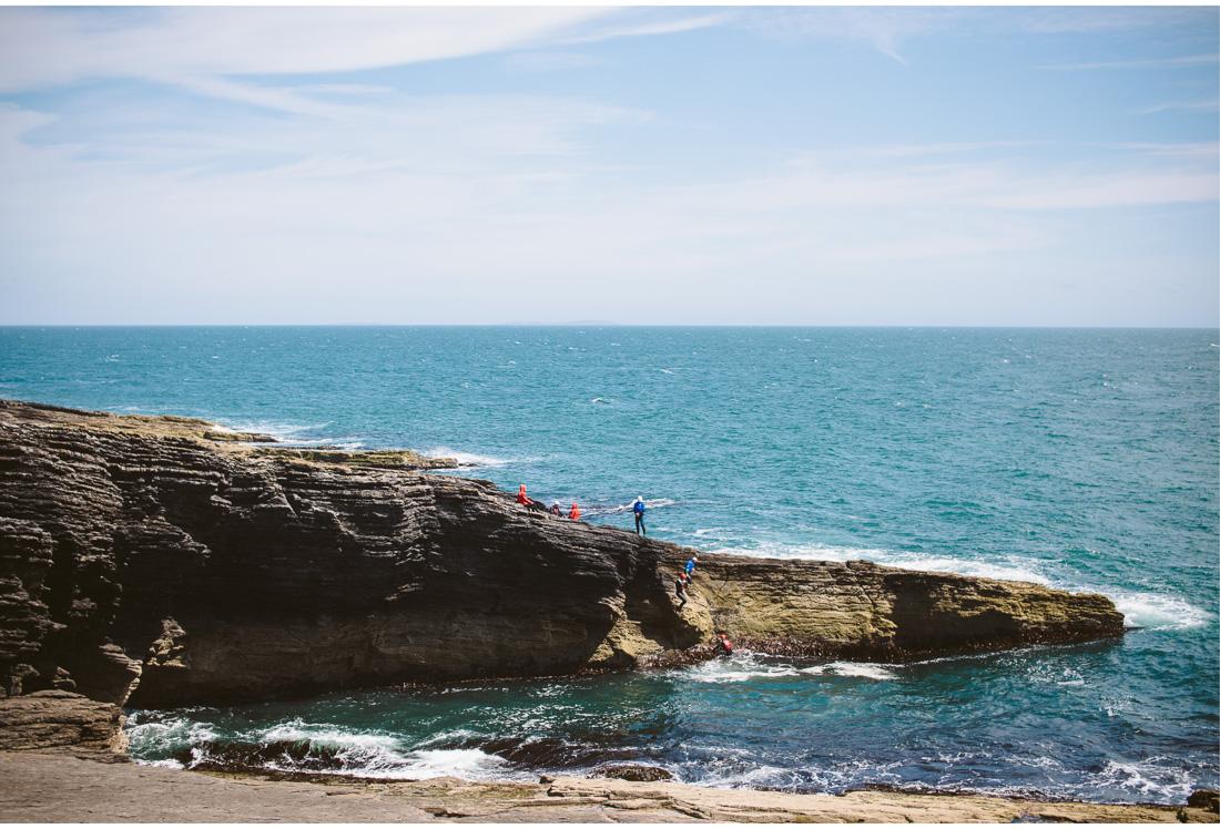 cliff diving in ireland