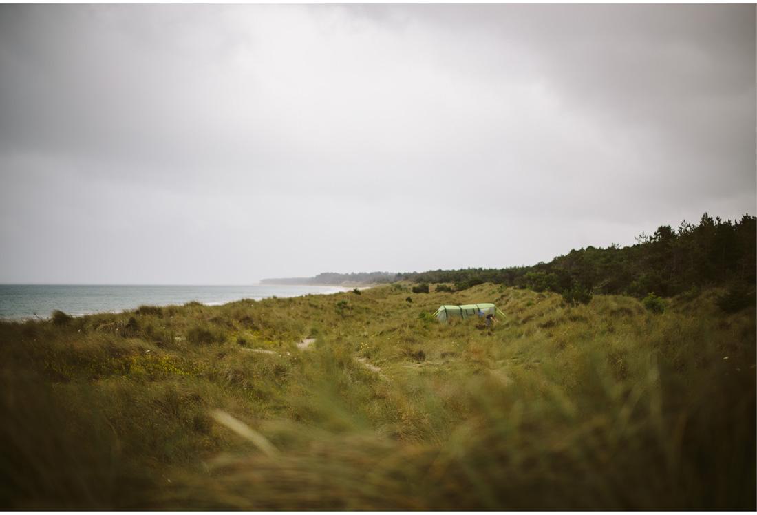 curracloe beach camp site