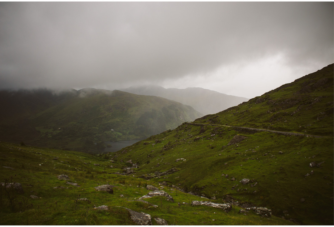healy pass view rain coming