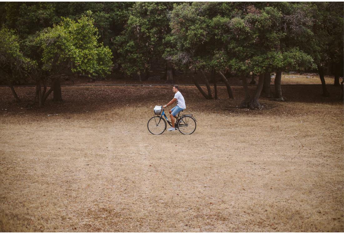 bike ride on brijuni