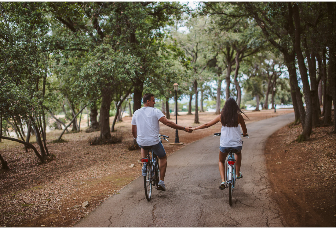 bike ride on brijuni national park