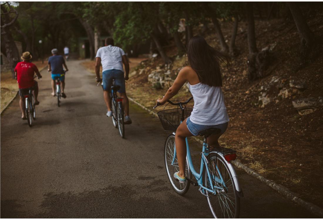 bike ride on brijuni croatia