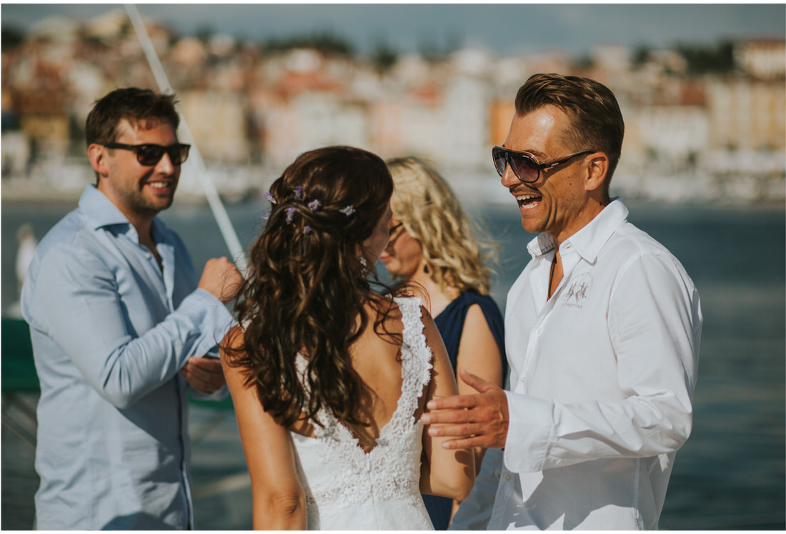 rovinj port wedding