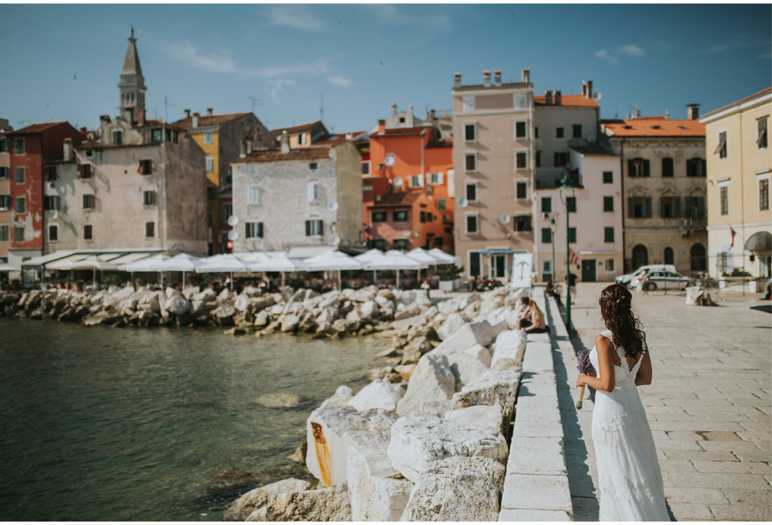 bride in rovinj
