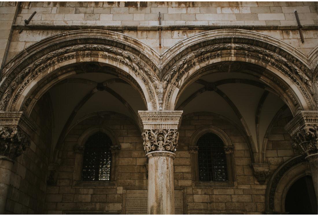 dubrovnik architecture arch