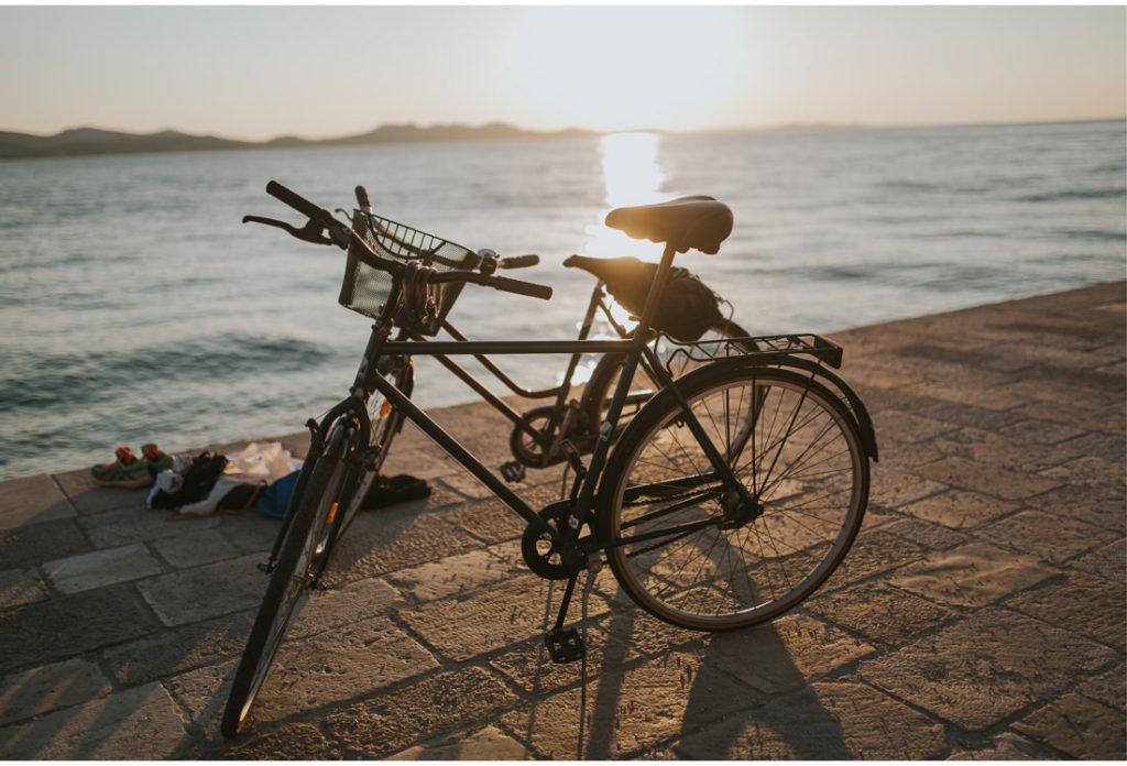 bikes in zadar