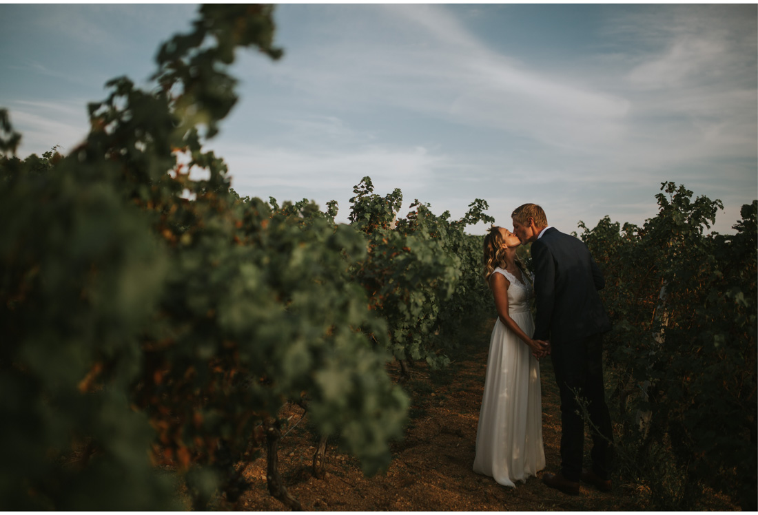 pag wedding session in vineyard
