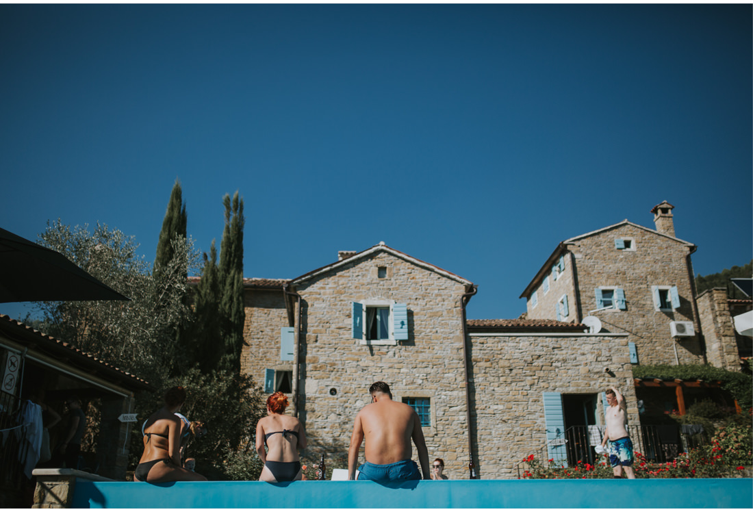 istrian villa wedding
