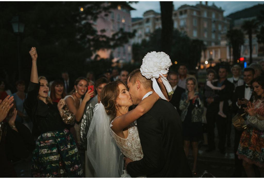 poljubac nakon obreda