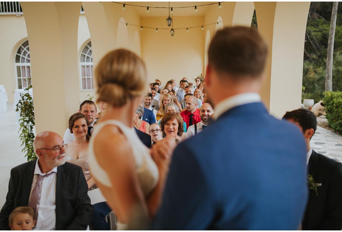 happy wedding guests villa dalmacija wedding