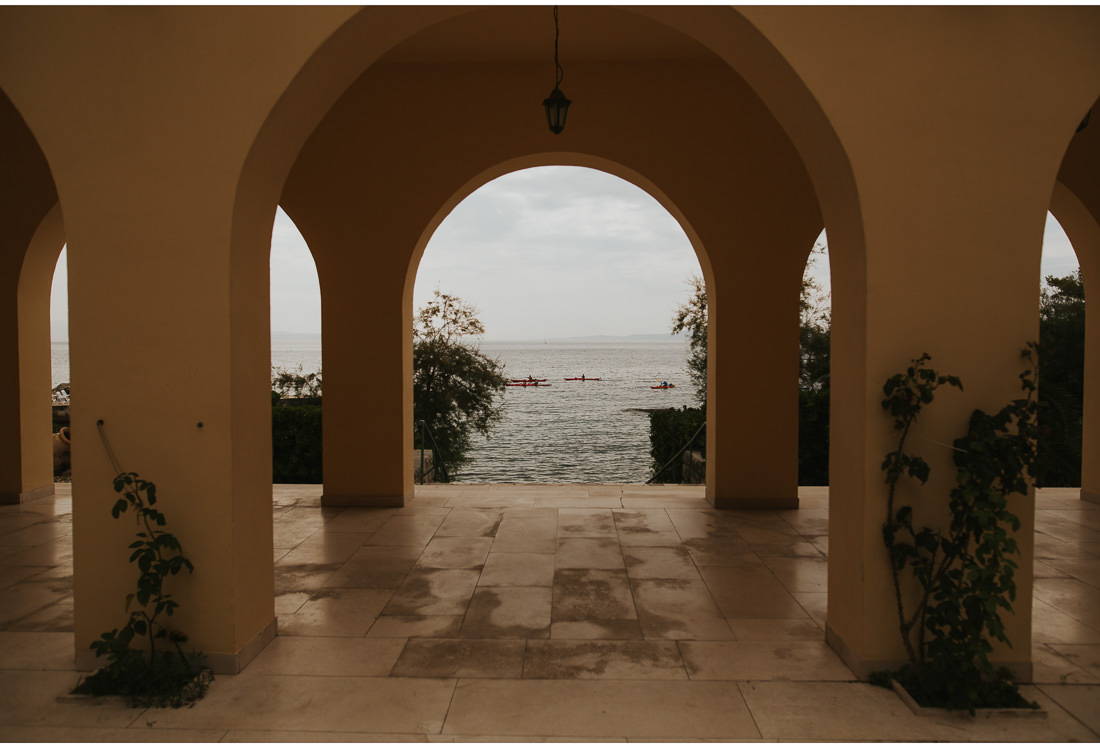 view from villa dalmacija