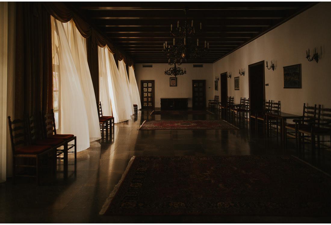 inside of villa dalmacija