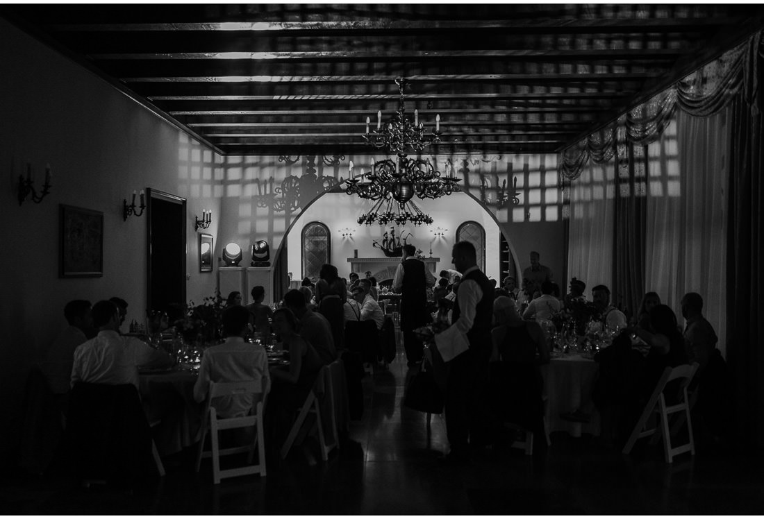 villa dalmacija inside dinner