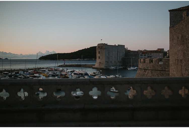 dubrovnik at dawn