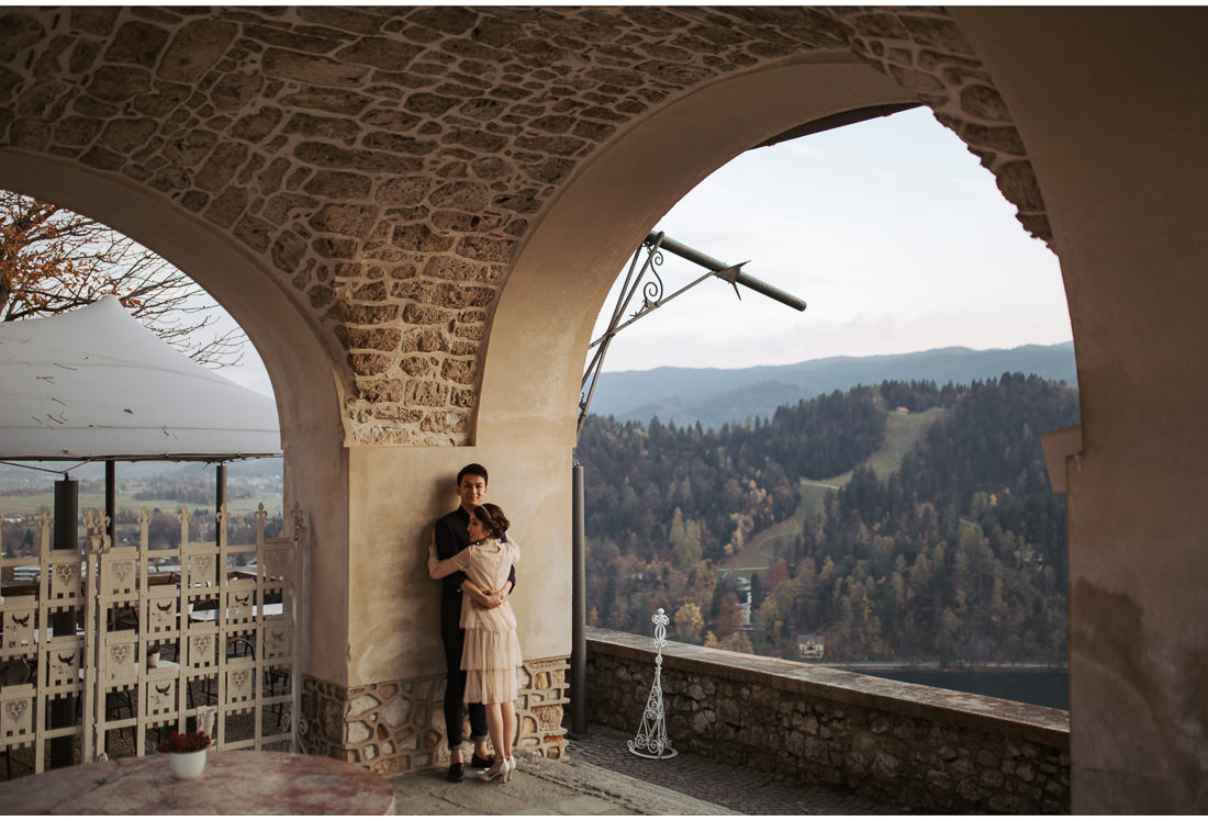 castle bled wedding photo shoot