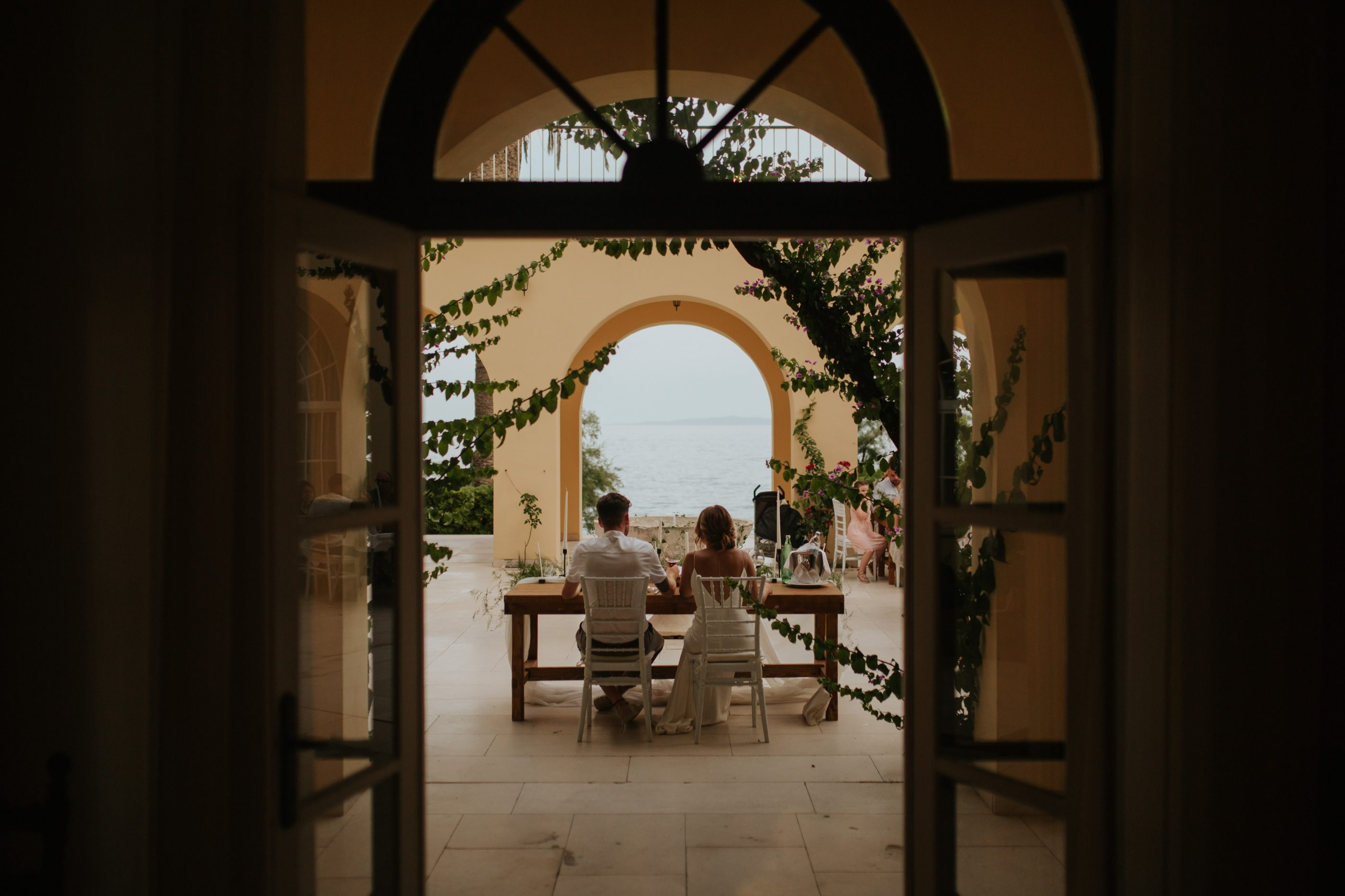 wedding in Croatia at Villa Dalmacija