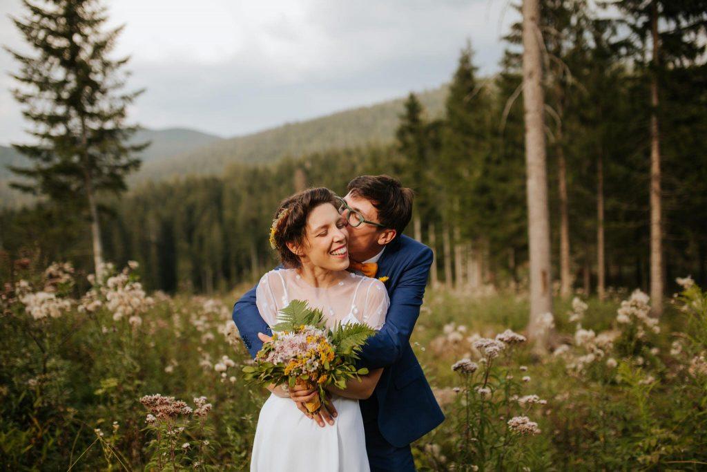 diy forrest wedding